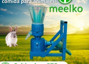 Peletizadora meelko 200mm 15hp pto