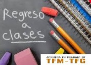 Vuelta clases = asesorías tfmtfg.es