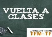 Comenzar clases es sencillo con tfmtfg.es