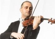 Clases particulares de violin a domicilio todos los niveles en madrid
