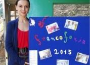 Profesora titulada nativa de frances mananas en valencia