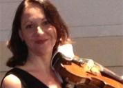 Clases de violin con la profesora rusa en madrid