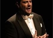Clases personalizadas profesor titulado superior canto en madrid