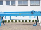 Plegadora manual para aluminio de 3 metros