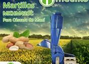 Molino triturador meelko de biomasa hasta 700
