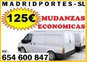125eur#mudanza econÓmica-65/46008/47 portes madrid