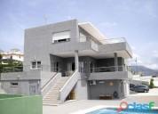 Ocasion villa de lujo con piscina y garaje y bodega en polop