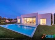 Ocasion villa de lujo con piscina y garaje y vistas al mar y cerca del campo de golf en finestrat