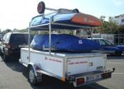 Remolque nautico de aluminio para barcos grandes