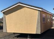 Mobil home seminuevo 3 dormitorios.