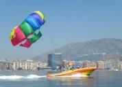 Barco de parasailing paracaidas orca 10 400 campillos