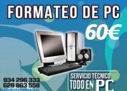 Formateo de tu ordenador