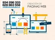 DiseÑo y elaboracion de paginas web barcelona
