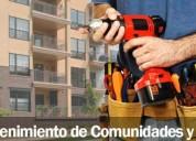 Mantenimiento de comunidades y edificios