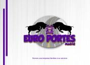Euro portes madrid - portes/mudanzas