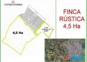 finca rustica 45 000 m2 en partida malgovern camino mariola en lleida