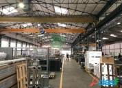 Alquiler y venta de nave industrial en fuenlabrada en el poligono industrial cobo calleja