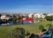 Vivienda en campo de golf 2 hab y 2 banos amueblada y equipada con vistas al golf garaje en alicante