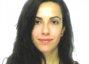 Profesora particular de frances con experiencia en madrid