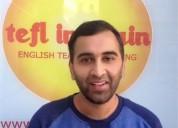 Profesor de ingles bilinguee nativa certificada en málaga