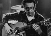 Doy clases de guitarra espanola y flamenca espcializado en nivel inicial y medio tambien en madrid