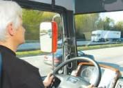 Se solicita chofer-conductor para el transporte
