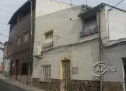 casa de pueblo para reformar pudiendo quedar una vivienda para usted y los suyos 3 dormitorios 70.00