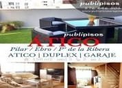 Atico junto balcon de san lazaro publipisos zaragoza 3 dormitorios 158.00 m2