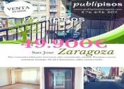 piso economico san jose zaragoza 2 dormitorios 60.00 m2