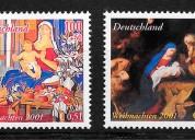 Cambio y compro sellos de Francia y Alemania.