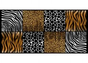 Cabecero adhesivo animal print cama doble