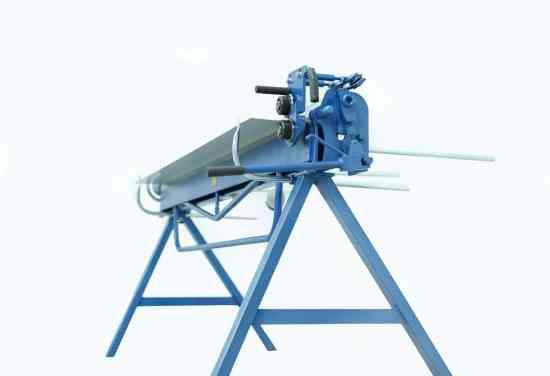 Plegadora manual para aluminio de 2 metros