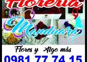 Envío de flores en paraguay -atención telef. 24hs.