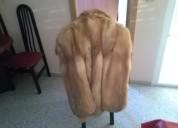 Vendo  chaquetón de zorro para restaurar