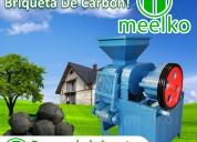 Prensa de briquetas mkbc30