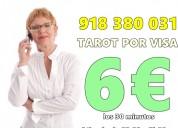 La mejor promocion de tarot/6 euros 30 minutos