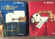Enciclopedia de la musica planeta dos tomos