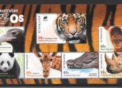 Cambio sellos de canadá por alemania 3x1