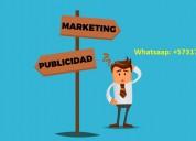 Se busca personal para markting y publicidad