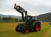 Tractores usados fendt 412-4 vario - 2004