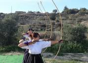 Curso de kyudo (tiro con arco tradicional japonés)