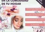 Manicura pedicura maquillaje y estetica