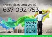 Creaciòn y desarrollo de paginas web tiendas online