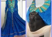 Vestido de fantasia medieval