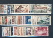 Compro sellos  nuevos de francia