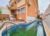 Espectacular casa con piscina en san javier centro 4 dormitorios 222.00 m2