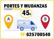 Portes baratos alcorcón: 625700540(=tu mudanza=)