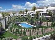 Costa del sol casares planta baja de obra nueva con piscina y jardin 2 dormitorios 100.72 m2