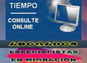 Migración, asesoría jurídica profesional