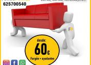 Portes +ascao (desde 60€) 625→700540 (con 2 ayudan